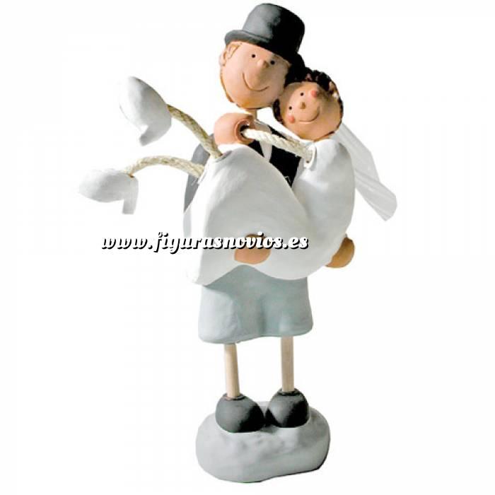 Imagen Novios Tarta Divertidos Figura Pastel Novia en Brazo (Bubinots)