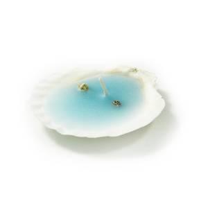 Detalles de Bautizo - Vela Concha Azul (Últimas Unidades)