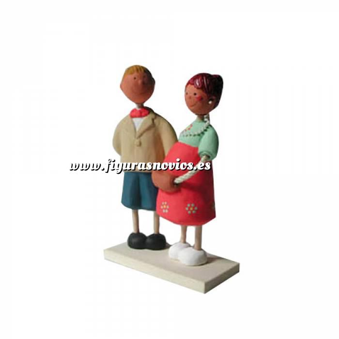 Imagen Novios Tarta Modernos Figura Pastel Futuros Papás (Bubinots) (Últimas Unidades)