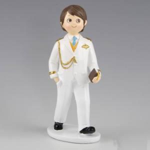 Figuras de Comuni�n - Figura Tarta Comuni�n Ni�o Almirante