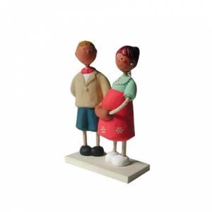 Novios Tarta Modernos - Figura Pastel Futuros Papás (Bubinots) (Últimas Unidades)